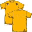 コスパ Zガンダム 百式百百 Tシャツ ゴールド サイズ:L