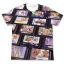 メガドライブ カートリッジ フルグラフィックTシャツ/ホワイト-M コスパ