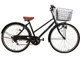 27インチシティサイクル・ダイナモライト仕様 シマノ製外装6段ギア付き