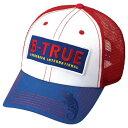 エバーグリーン(EVERGREEN) B-TRUE トラッカーキャップ フリー トリコロール