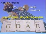 バイオリン用ナイロン弦セット VNS-260 1/8