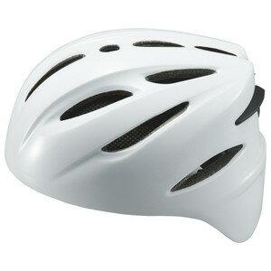 Zett(ゼット) 野球 軟式 キャッチャー用 ヘルメット Bhl40r ホワイト L