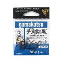 がまかつ(Gamakatsu) バラ チヌ 黒 3号