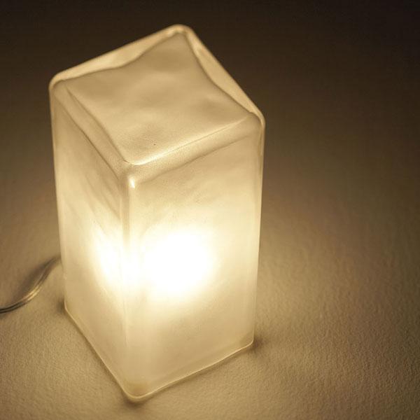 アートワークスタジオ Frosty block lamp AW-0332の写真