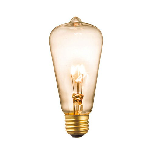AW-BU-1028 E26 60W アンティーク電球(クリア) 白熱球タイプの写真