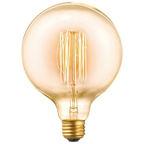 AW-BU-1151 E26 60W G125カーボン電球(クリア) 白熱球タイプの写真