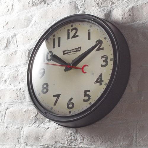 【ARTWORKSTUDIO】 Engineered-clock (エンジニアードクロック) BK(ブラック)/VIの写真