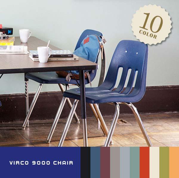 ARTWORKSTUDIOオフィシャルショップ VIRCO バルコ スタッキングチェア9000 Chairの写真