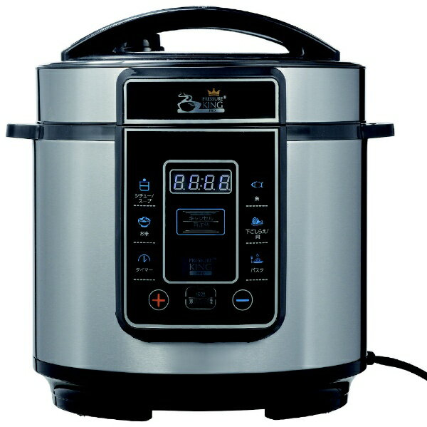 電気圧力鍋プレッシャーキングプロ 炊飯器の写真