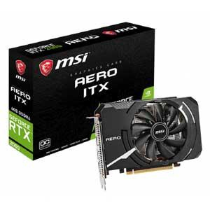 Msi Geforce Rtx 2060 Aero Itx 6g Oc グラフィックスボード Vd6857