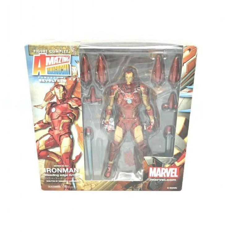 Figurecomplex Amazing Yamaguchi Ironman Bleeding Edge Armor アイアンマン 約170mm Abs&pvc製 塗装済アクションフィギュア