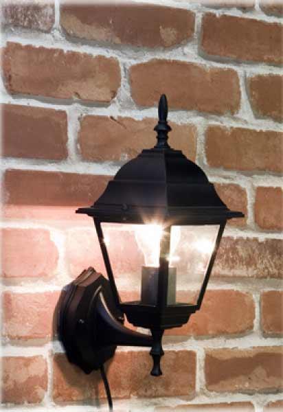 アベニューランプ ウォールランプ スクエア 外灯風ウォールランプ 3色展開 10DWL02Sの写真