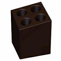 ideaco(イデアコ) カサキーパー mini cube マットカラー 傘立て マットブラウンの写真