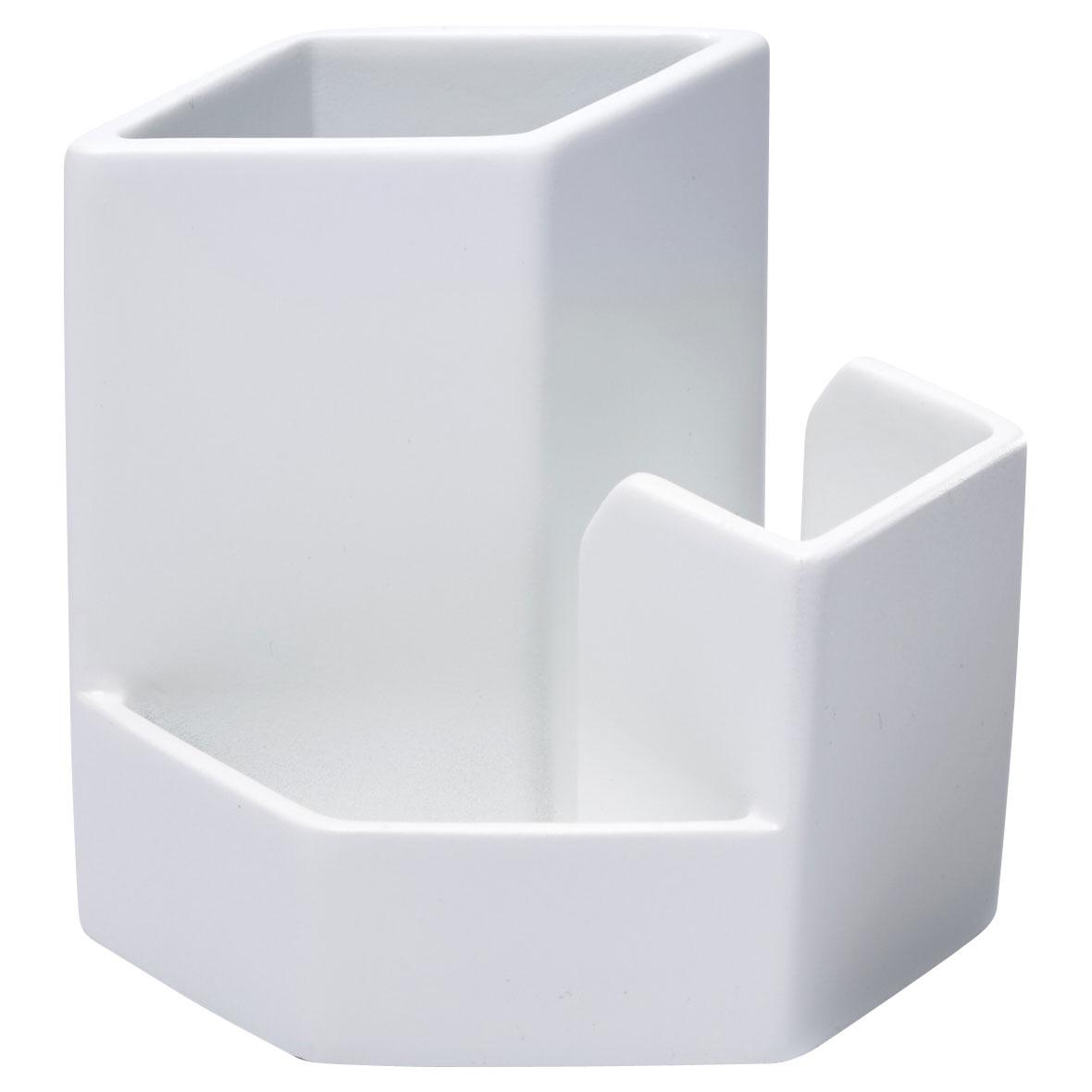 ideaco/イデアコ 小物入れ マルチスタンド マット ホワイトの写真