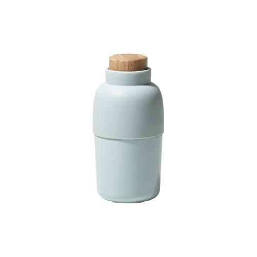 ウェットシートケース ideaco モチビン おしゃれ イデアコ ロールウェットティッシュ専用容器 Mochi Bin ライトブルーの写真