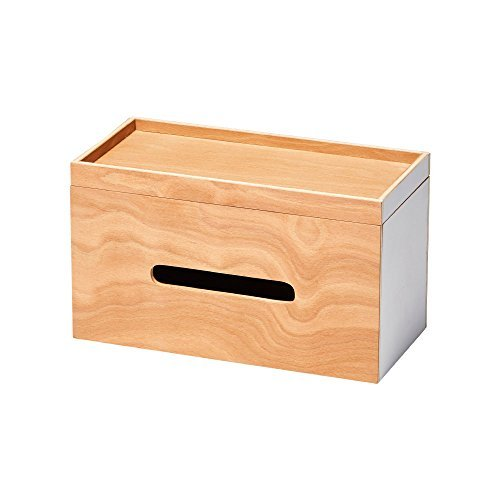ideaco/イデアコ PLYWOOD SeriesRoof Paper Boxの写真