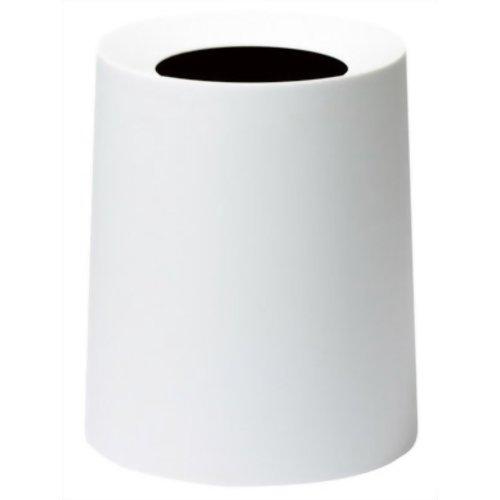 ideaco TUBELOR HOMME ゴミ箱 rich whiteの写真