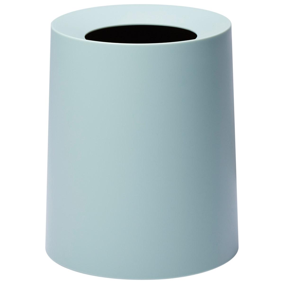 イデアコ ゴミ箱 チューブラーオム 11.4L ライトブルーの写真