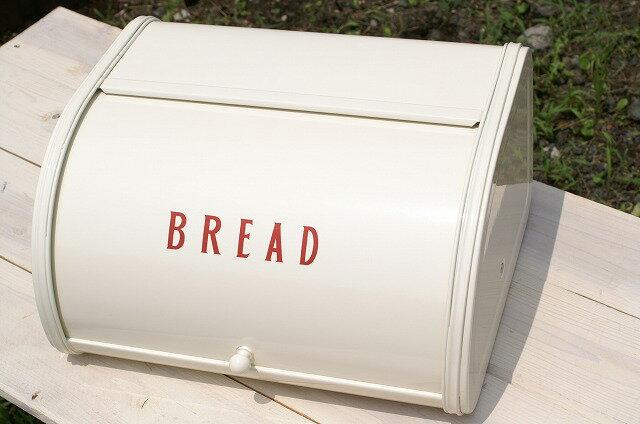 キッチン収納、保存に便利 ホームステッド ローラートップブレッド缶S レッドの写真