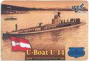 コンブリック 1/350 墺潜水艦UB-14型1916フルハル レジンキット バウマン