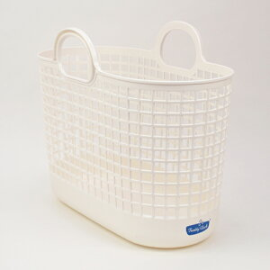 フレディレック ランドリーバスケット スリム 洗濯かごしゃれ シンプル 洗濯カゴ 白