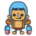 ワンピース×パンソンワークス《新世界編/フランキー》Bigステッカー☆アニメキャラクターグッズ通販☆