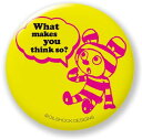 OilshockDesigns/オイルショックデザインズ《Riddle Rabbit》缶バッジ☆ファッションアイテム通販☆/シネマコレクション