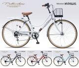 マイパラス M-504 シティサイクル シマノ6段変速ギア