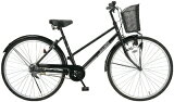 MyPallas/マイパラス シティサイクル26インチ 自転車ベーシックモデル ブラック