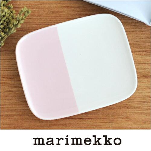 marimekko PUOLIKAS プレート 15×12cm ピンク 74 130 68350 マリメッコ プオリカス z