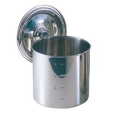EBM モリブデン キッチンポット/寸胴鍋 12cm 手無 8822100の写真
