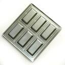 シリコン加工 フィナンシェ型 天板 6ヶ取