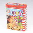 【85ミリ20本用】パピーフレンド柄 シガレットケース ブリキ缶 キャンディー缶