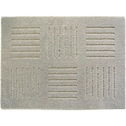 ピタプラス ブリック ジョイントキッチンマット 約45*60cm ベージュ(2枚入)の写真