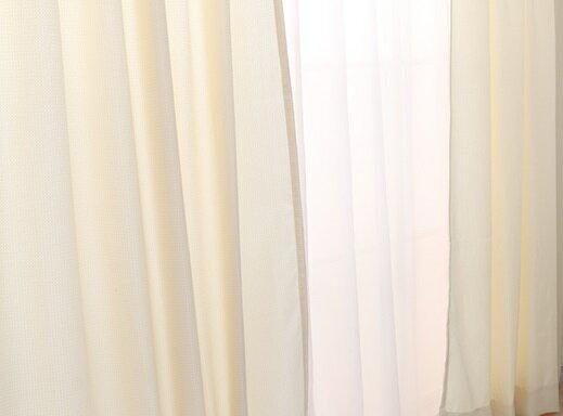 ドレープカーテン レースカーテン カーテン レース セット おしゃれ 幅 丈   の写真
