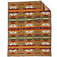 ペンドルトン PENDLETON Chief Joseph Muchacho Blankets チーフジョセフクリフブランケット 51114/Khaki ZD632