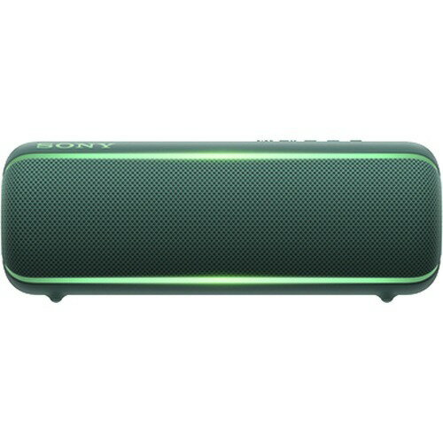 ソニー SONY ワイヤレスポータブルスピーカー SRS-XB22 : 防水 / 防塵 / 防錆 / Bluetooth / 重低音モデル 最大12時間連続再生 2019年モデル ブルー SRS-XB22 L