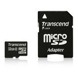 Transcend(トランセンド) microSDHCカード 32GB (Class2)