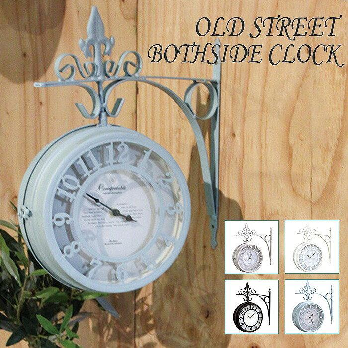 old street clock l beige nhe be 時計 アンティーク クラシック の写真