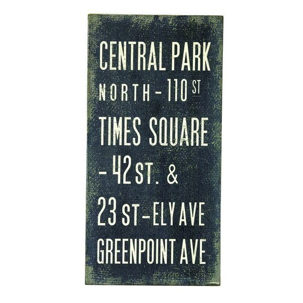 SPICE/Wood sign board BUS SIGN L/DRDG5020(PS)
