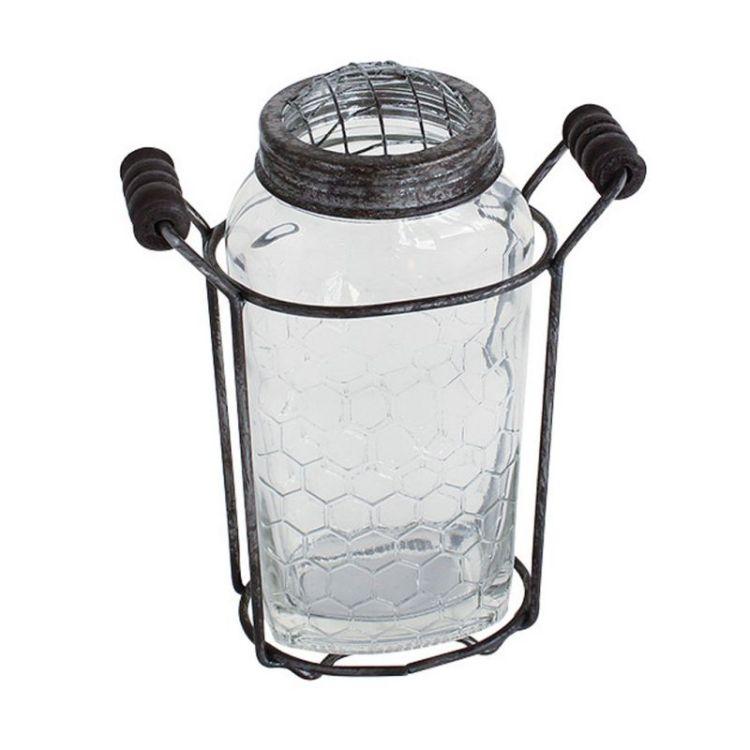 スパイス アイロンボトルベース s zhgr1021 iron bottle vaseの写真