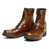 メーカー品番:WWM-0001 WILD WING ワイルドウイング ライディングブーツ ファルコン ダークブラウン 27.0cm