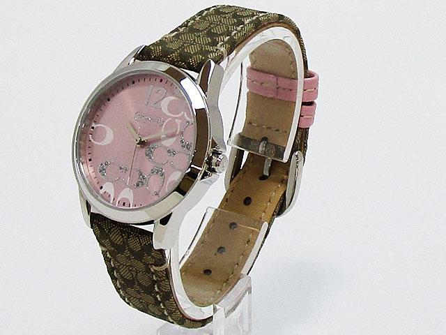 コーチ Coach腕時計 クラシック シグネチャー 32mm ピンク 14501621