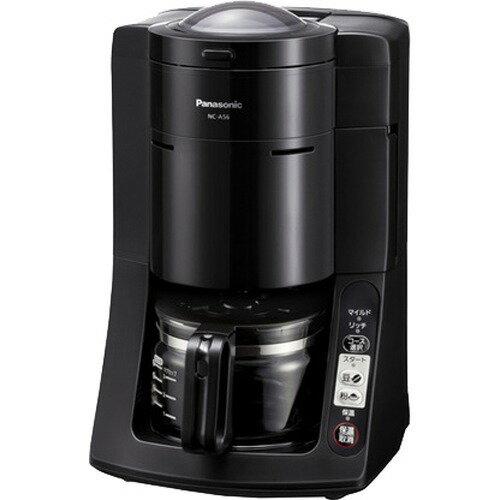 パナソニック 沸騰浄水コーヒーメーカー 5カップ(670ml) NC-A56-K(ブラック)(1台)の写真