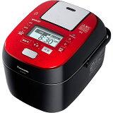 パナソニック スチーム&可変圧力IHジャー炊飯器 ルージュブラック SR-SPX106-RK