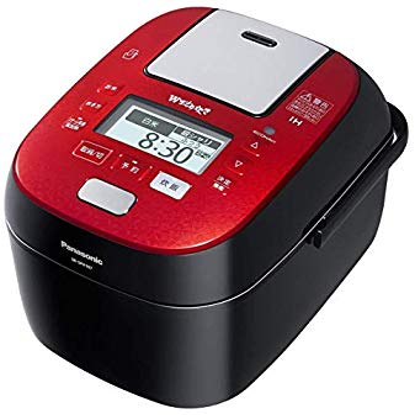 Panasonic スチーム&可変圧力IHジャー炊飯器 加圧追い炊き SR-SPX107-RK
