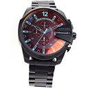 ディーゼル DIESEL 腕時計  メガチーフ MEGA CHIEF クロノグラフ DZ4318