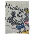 ミッキー&ミニー 手鏡 折りたたみスタンドミラー キス ディズニー スモールプラネット 11×15cm
