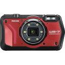リコー タフネスカメラ WG-7 レッド(1台) RICOH リコーイメージング RED