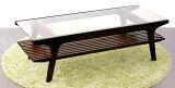 Faire-2 センターテーブル フェール2 ビターブラウン ローテーブル 木製 120cm